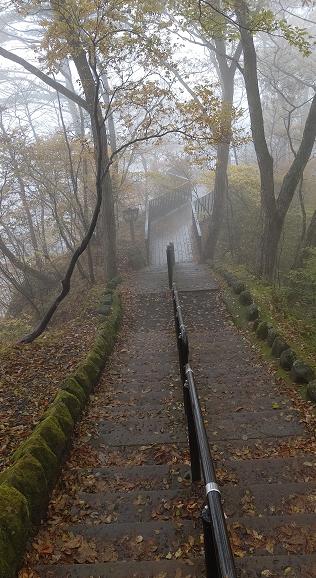 霧降の滝遊歩道2