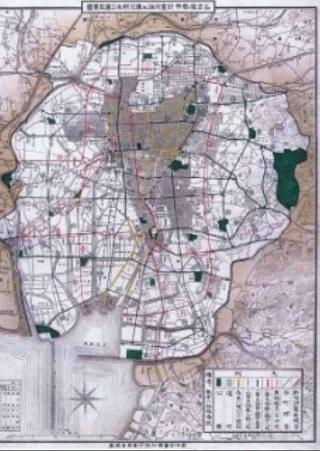 名古屋都市計画図