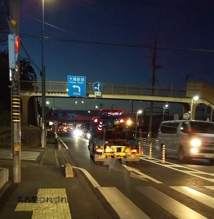 夕方左京山辺り
