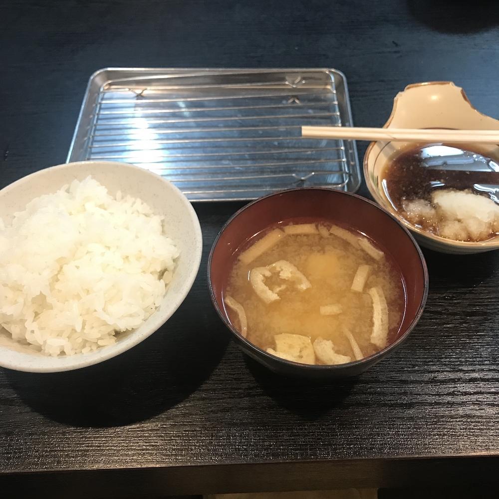 天ぷら定食¥850