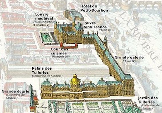 ルーヴル宮殿 写真