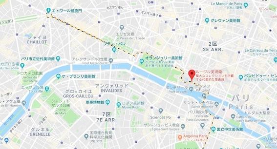 ルーヴル美術館 地図