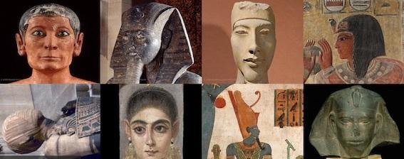 古代エジプト美術部門 写真