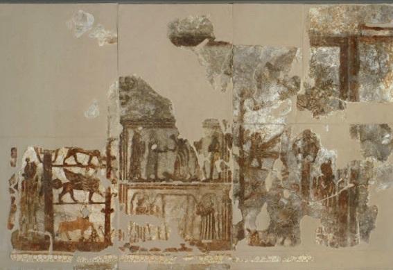 壁画 紀元前2千年