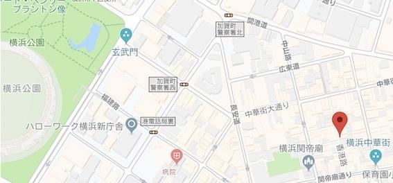 牡丹園 地図