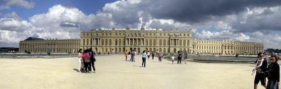 庭園側からのヴェルサイユ宮殿