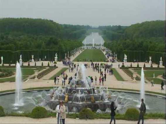 ヴェルサイユ噴水庭園