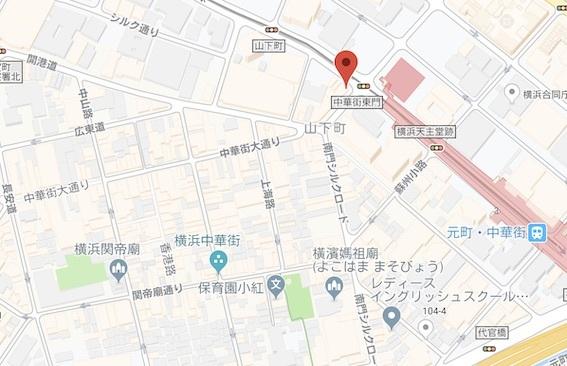 北京飯店地図