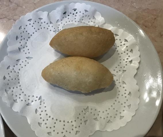 もち米の揚げ餃子