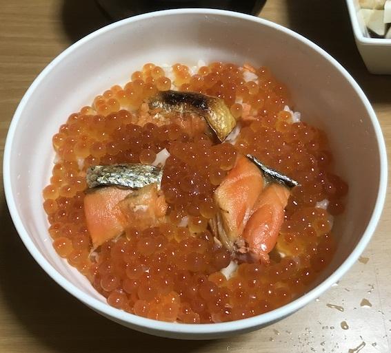 鮭親子飯01