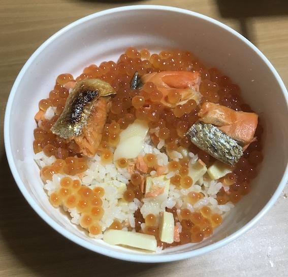 鮭親子飯02