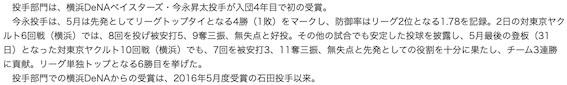 2019今永文章