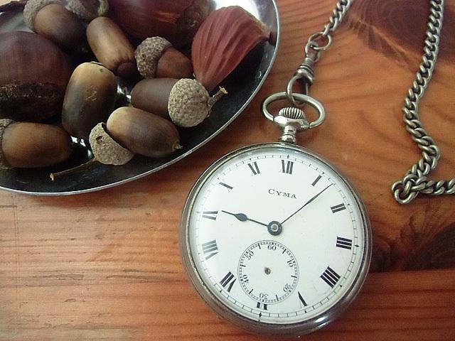 24-木の実と懐中時計