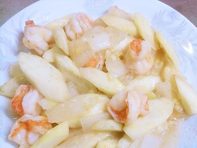 エビマコ炒め