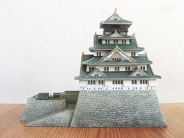 大阪城完成です