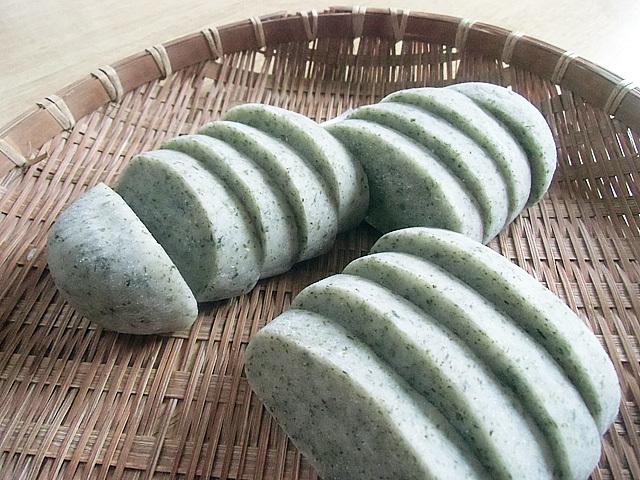 青海苔のかき餅