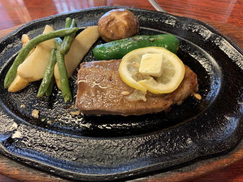 かめや 松阪牛ステーキ