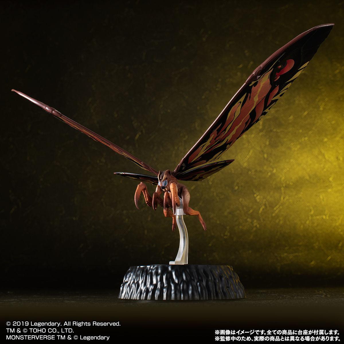 HG D_ EX01 モスラ&ラドン&モスラ幼虫セット03