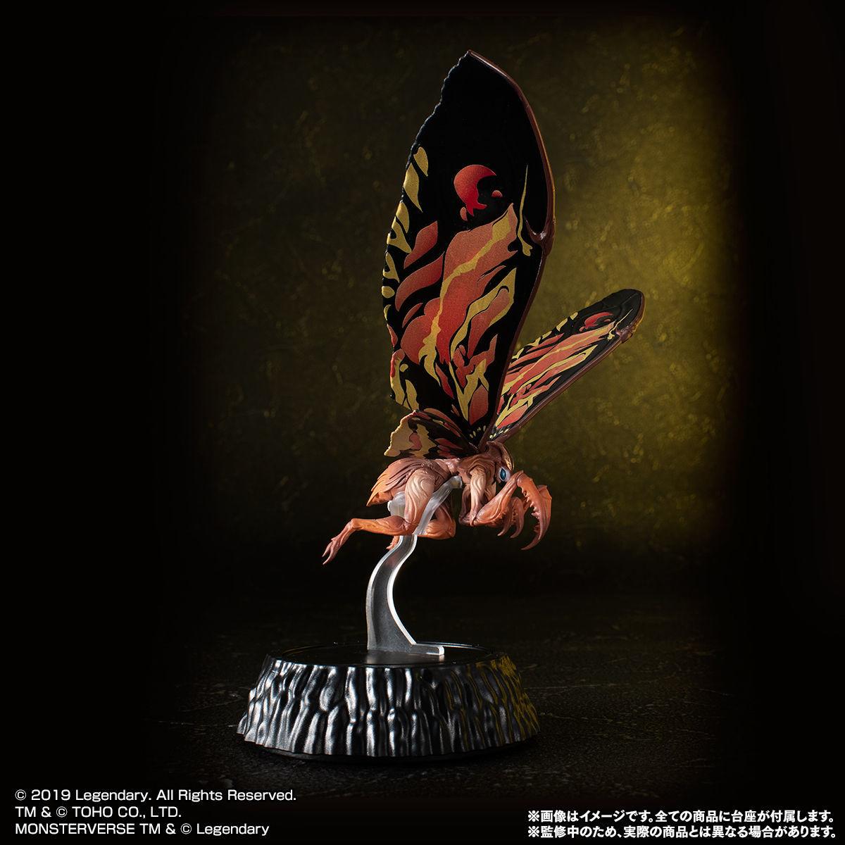 HG D_ EX01 モスラ&ラドン&モスラ幼虫セット04