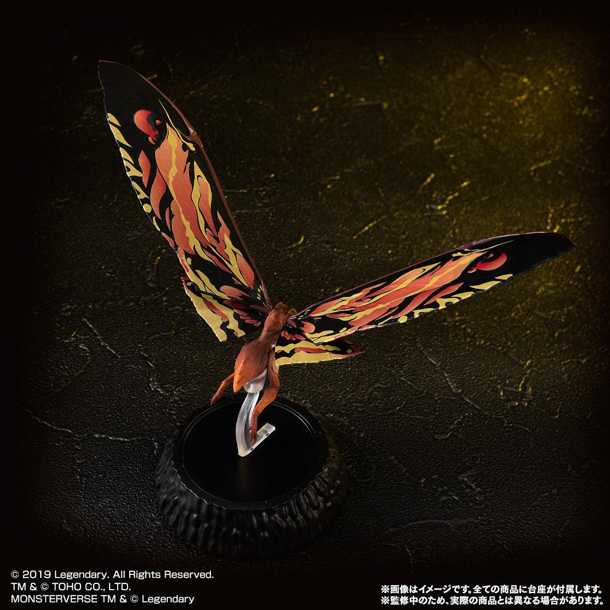HG D_ EX01 モスラ&ラドン&モスラ幼虫セット05