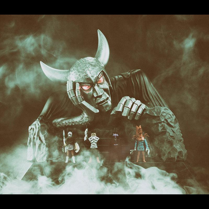 UA Monsters 仮面ライダーX キングダーク 完成品フィギュアFIGURE-048099_08