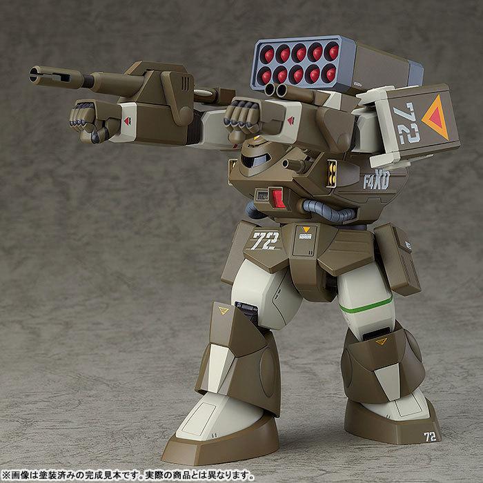 COMBAT ARMORS MAX17 172 太陽の牙ダグラム アイアンフット F4XD ヘイスティ XD型 プラモデルTOY-RBT-5066_03