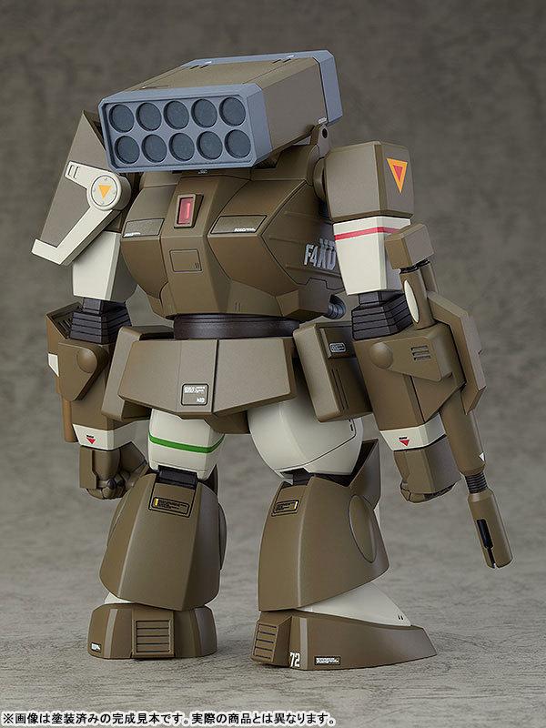 COMBAT ARMORS MAX17 172 太陽の牙ダグラム アイアンフット F4XD ヘイスティ XD型 プラモデルTOY-RBT-5066_05