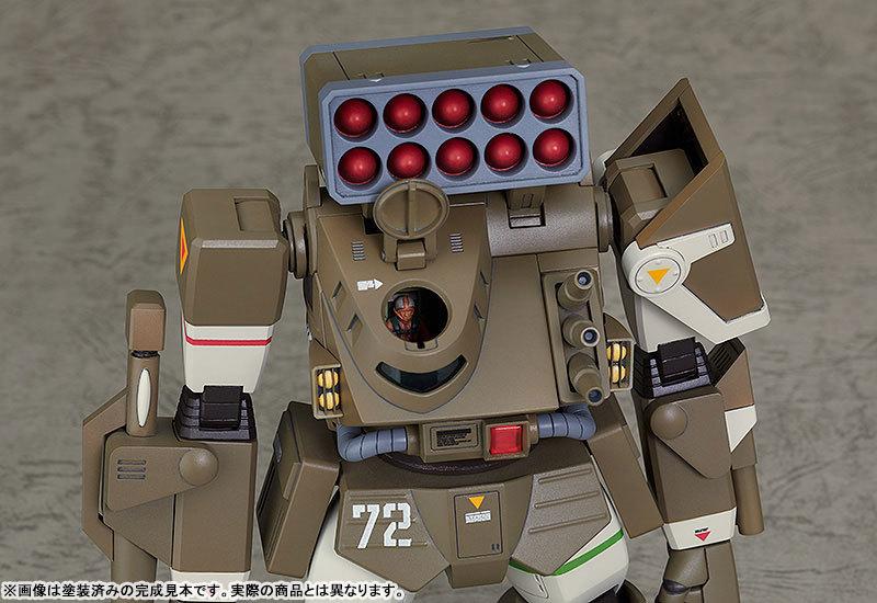 COMBAT ARMORS MAX17 172 太陽の牙ダグラム アイアンフット F4XD ヘイスティ XD型 プラモデルTOY-RBT-5066_06