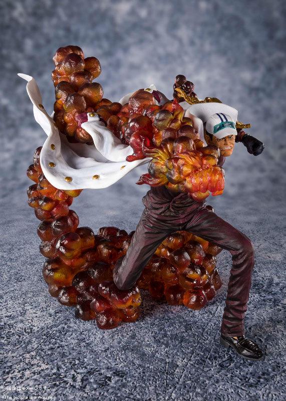 """フィギュアーツZERO [EXTRA BATTLE] """"三大将"""" サカズキ -赤犬-FIGURE-053205_02"""