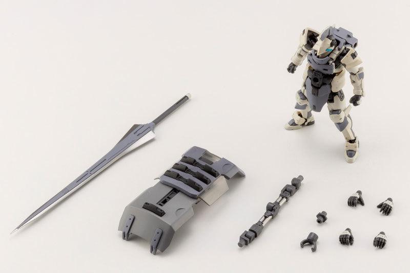 ヘキサギア ガバナー アーマータイプ:ナイト [ビアンコ] 124 キットブロックTOY-RBT-5123_04