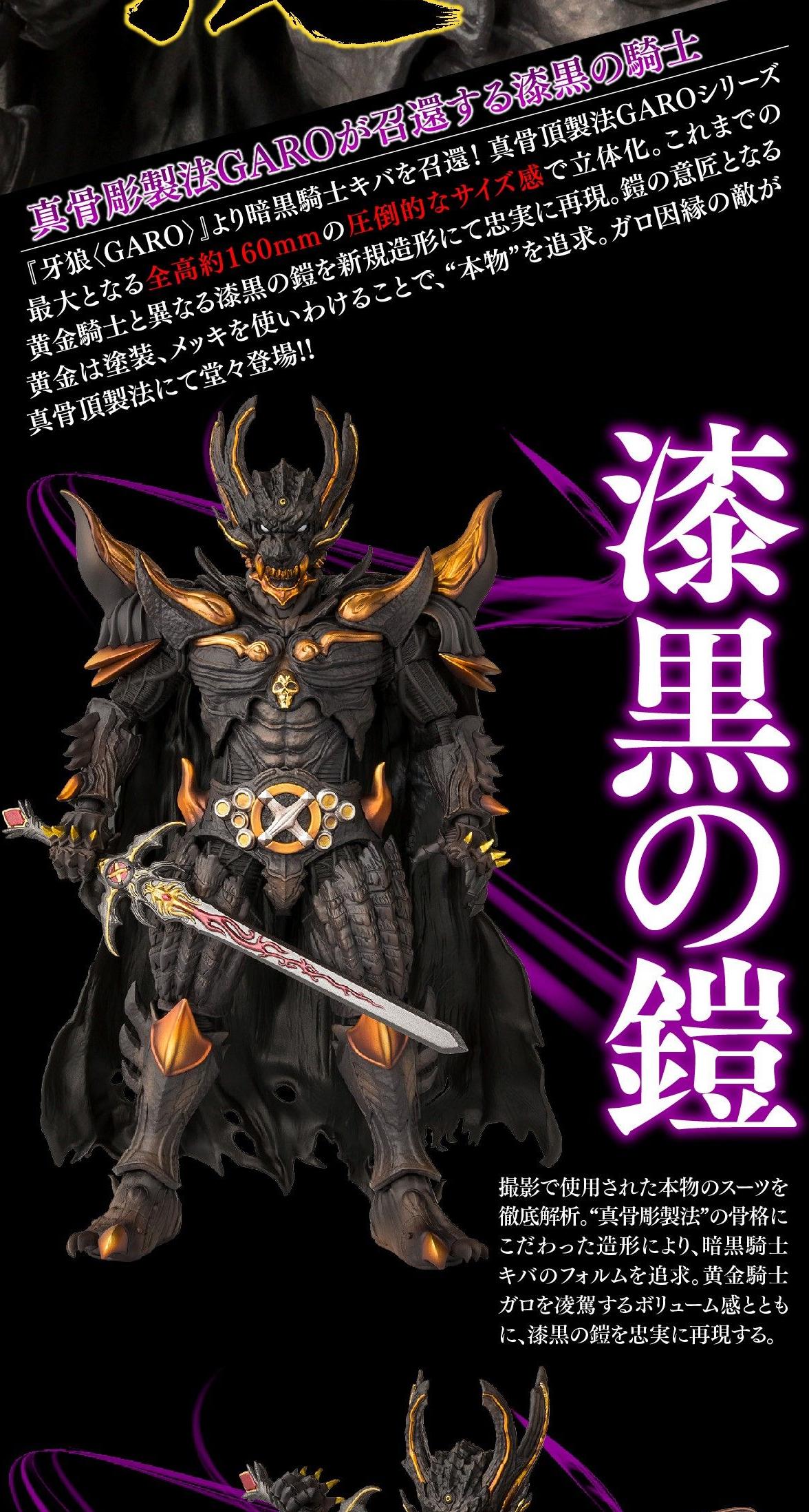 Figuarts(真骨彫製法) 暗黒騎士キバ予約2