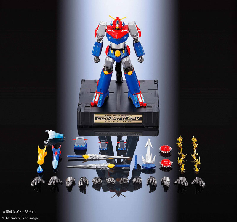 超合金魂 GX-90 超電磁ロボ コン・バトラーVFIGURE-053803_14