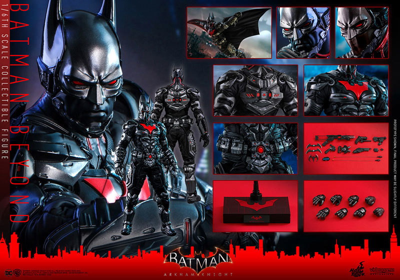ビデオゲームマスターピース アーカムナイト バットマン ザ フューチャー版FIGURE-056023_13
