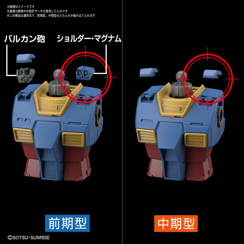 HG 1144 RX-78-02 ガンダム(GUNDAM THE ORIGIN版) プラモデルTOY-GDM-4617_04