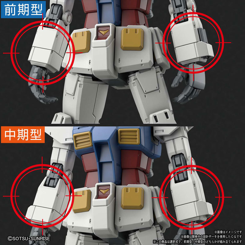 HG 1144 RX-78-02 ガンダム(GUNDAM THE ORIGIN版) プラモデルTOY-GDM-4617_05