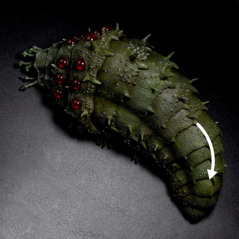 タケヤ式自在置物 風の谷のナウシカ 王蟲FIGURE-053046_06