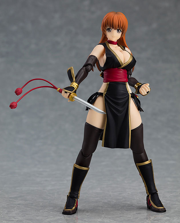 figma DEAD OR ALIVE 霞 C2黒FIGURE-053790_01