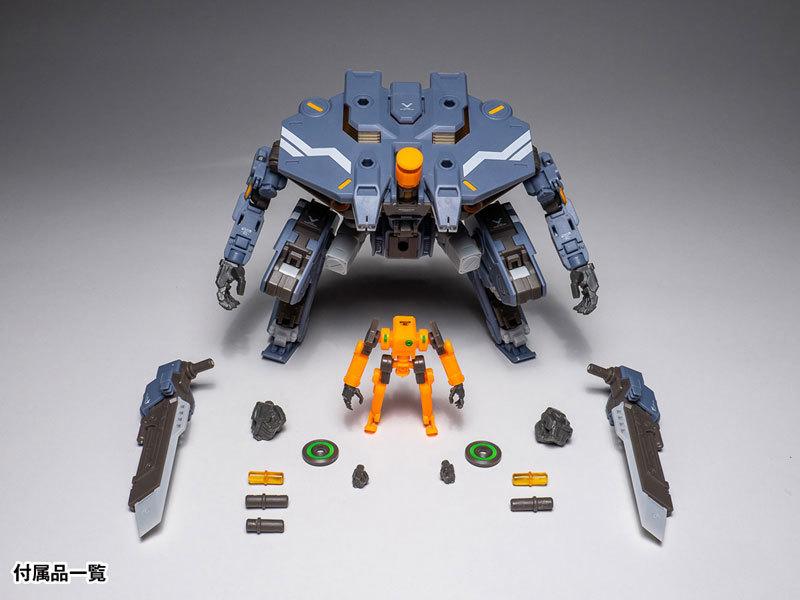 "RB-05 CARBE ""棘蟹"" (ユニバーサルカラーVer) アクションフィギュアFIGURE-056638_07"