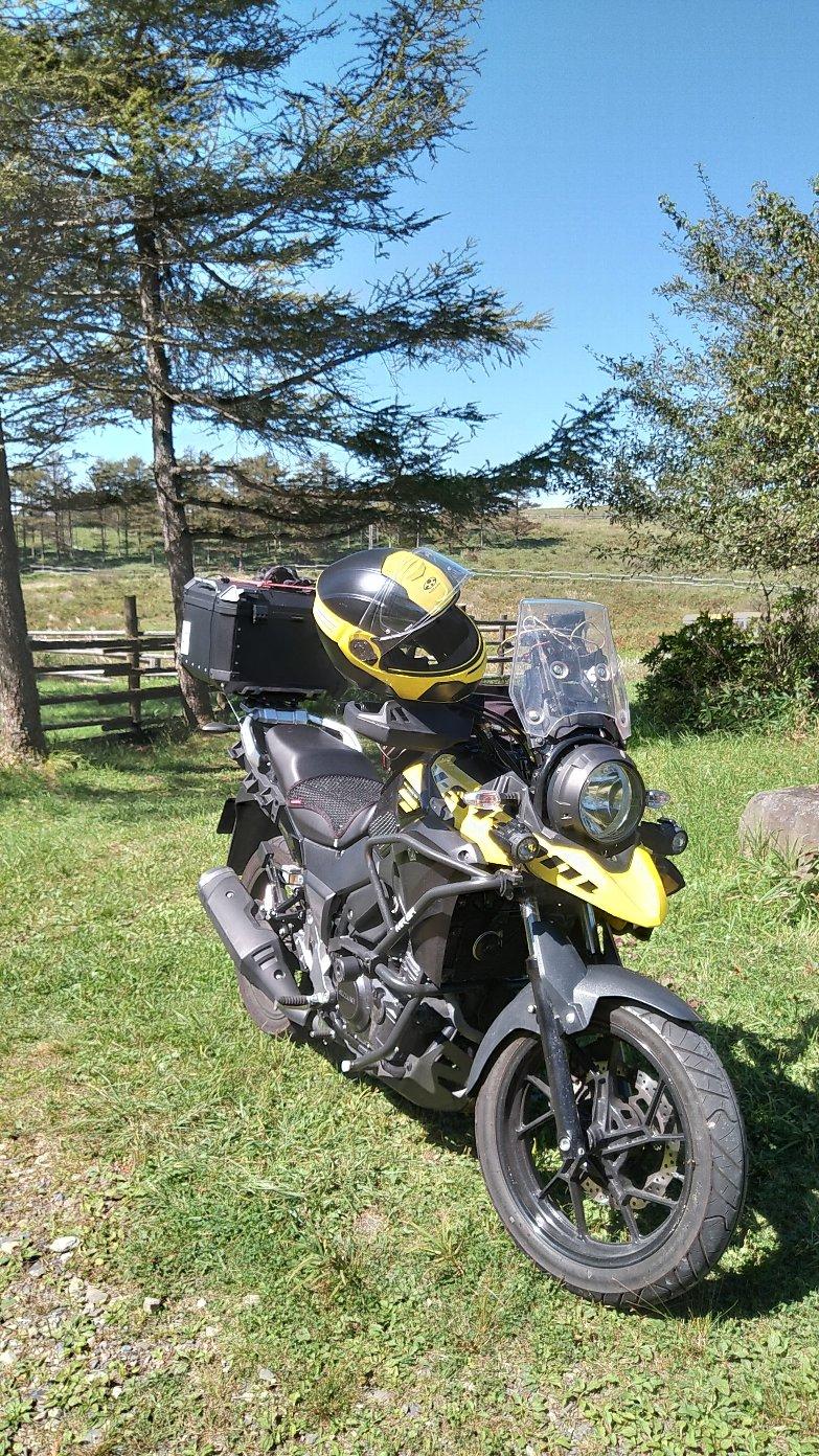 高ボッチ高原バイク2
