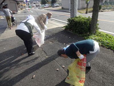 20191114波の花1103地域清掃①