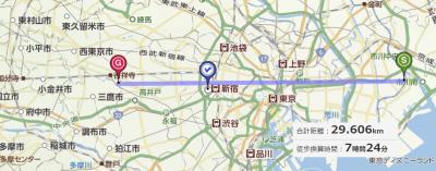 東京23区東西
