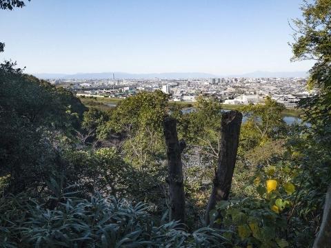 龍泉寺鐘楼からの眺望20191110(2)