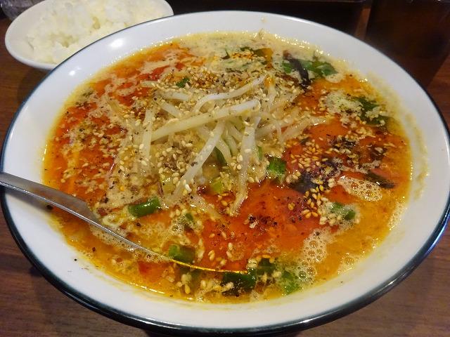 金須屋 担担麺 梨圓 (8)