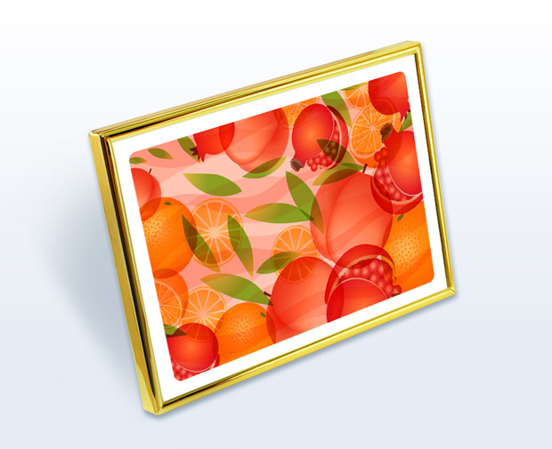 風水果実アートプレミアムW1イメージ2L