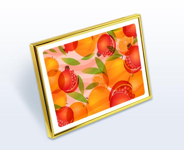 風水果実アートプレミアムW12イメージ2L