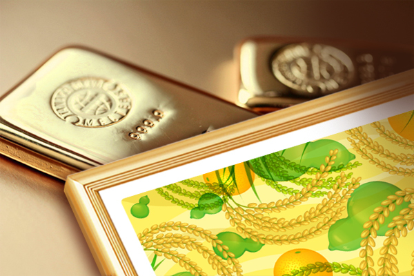 ゴールドフレームイメージ