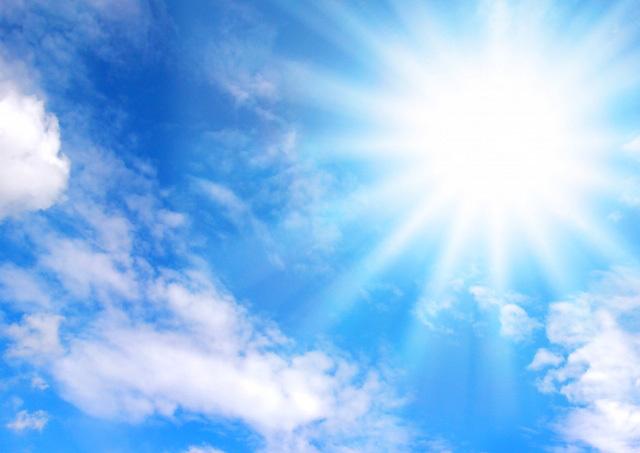 暑い日差しイメージ