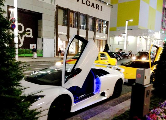 バブル高級車イメージ