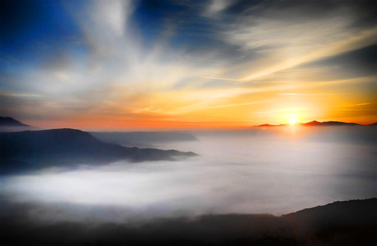 雲海イメージトップイメージ