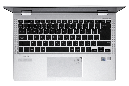 525_HP EliteBook x360 1040 G5_キーボード_0G1A0068-2